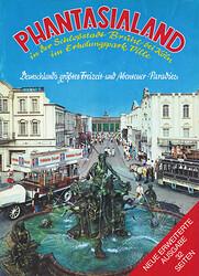 Cover vom Phantasialand Parkführer 1981 & 1982 das den Neptunbrunnen und Alt-Berlin zeigt.