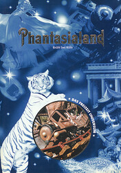 Cover vom Phantasialand Parkführer 1996 bis 1998.