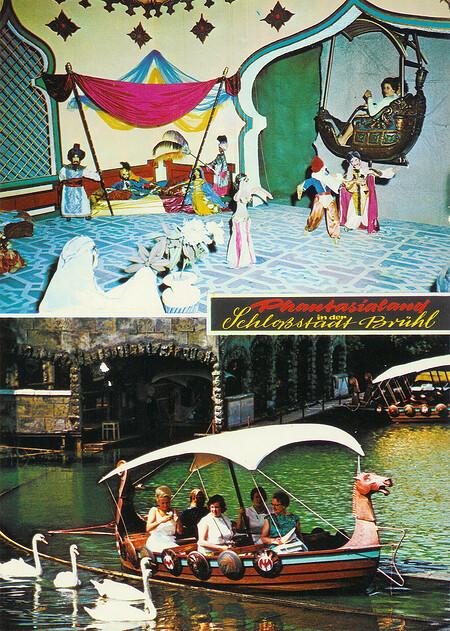 Wikinger-Bootsfahrt zu den Piraten von Carthagena und Gondelfahrt 1001 Nacht - Palast Cheherasade.