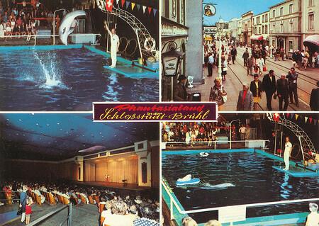 Zu sehen sind Delphinschau, Alt-Berlin und Wintergarten Varieté.