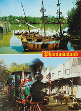 """Piratenschiff """"II Leone"""" und Westernexpress"""