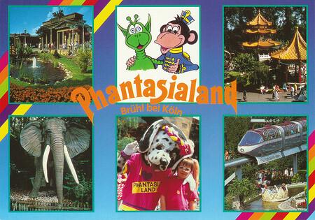 Zu sehen sind Phanti, Alex, Brandenburger Tor, Jet, Walzertraum und Chinatown.