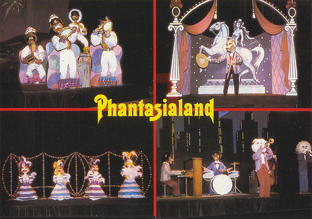 Starparade im Scala Theater.