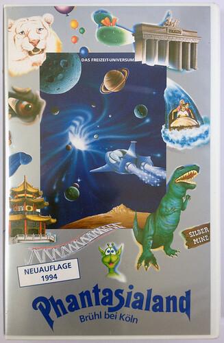 Hülle der Phantasialand VHS-Kassette 1994.