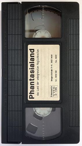 Phantasialand VHS-Kassette 1994.