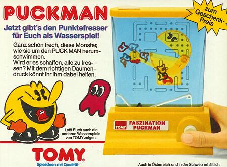 Tomy Wasserspiel Puck Man.