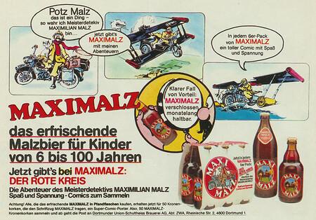 Maximalz Malzbier mit Maximilian Malz Comic.