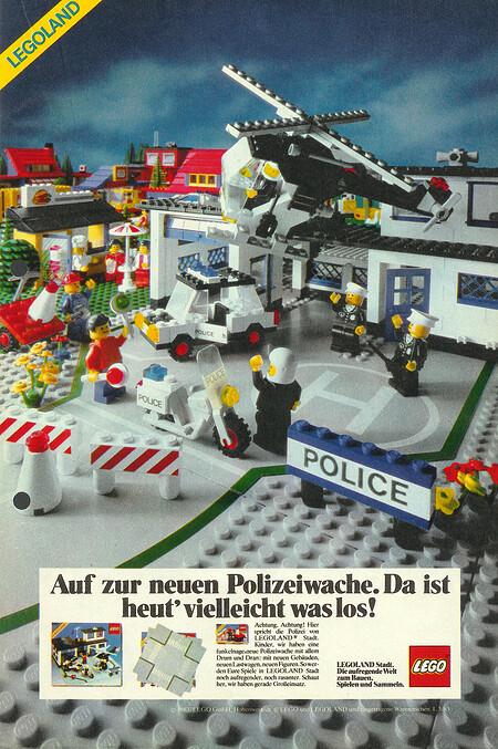 Legoland Polizeiwache / Polizeistation Nr. 6384.