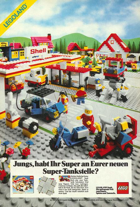 Legoland Shell Tankstelle Nr. 6371.