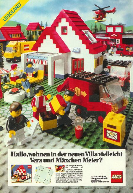 Die Legoland Villa Nr. 6374.