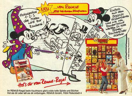 Disney Zauberbilder aus dem Remus Regal.
